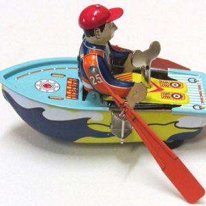 Boat, Row Boat, length 13cm