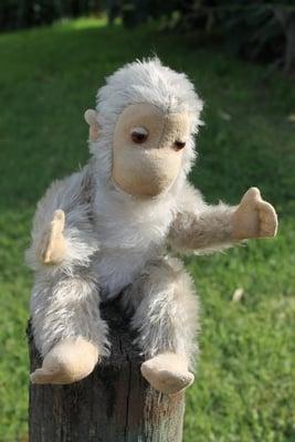 Schuco Monkey 30cm - vintage