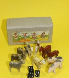 Seiffen Wooden Play Box made in Germany