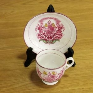 Temperance League Cup & Saucer