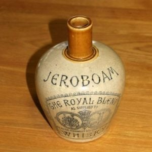 Jeroboam Whisky Bottle