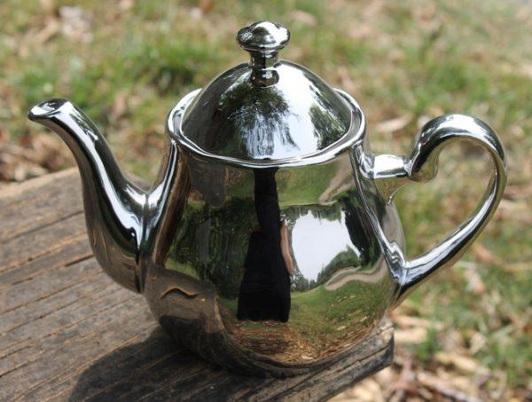 Teapot - Silver/Platinum