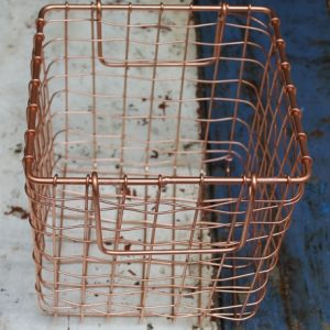 Basket – Square Small Copper