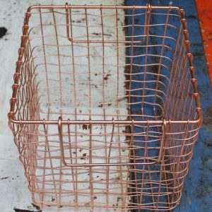 Basket – Square Medium Copper