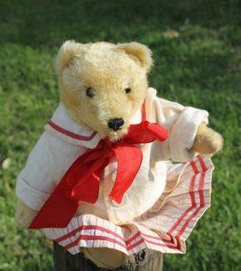 Steiff Original Teddy blonde 28cm – vintage