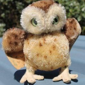 Steiff Wittie Owl – 14cm vintage