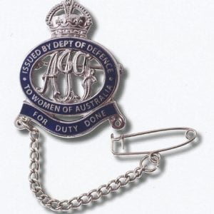 Female Relative Badge – AIF WWI