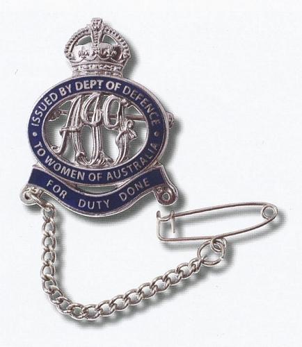 Female Relative Badge - AIF WWI
