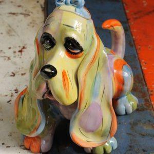 Bloodhound Rainbow Teapot