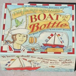 Boat in a Bottle – make your own