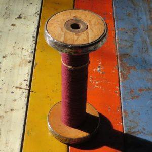 Bobbin – Burgundy Thread