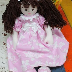 Cloth Rag Doll - Cleo