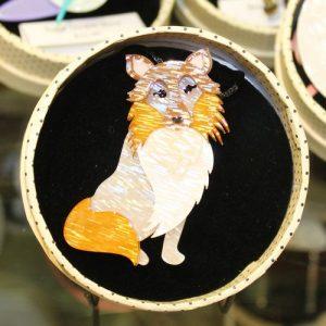 Erstwilder Brooch – Precocious Pixie (Dog)
