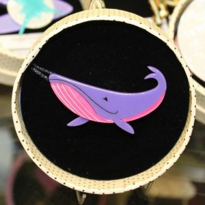 Erstwilder Brooch – Big Blue Whale