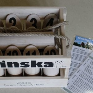 Finska – a log throwing game of strategy