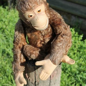 Steiff Jocko Chimpanzee – vintage 35cm