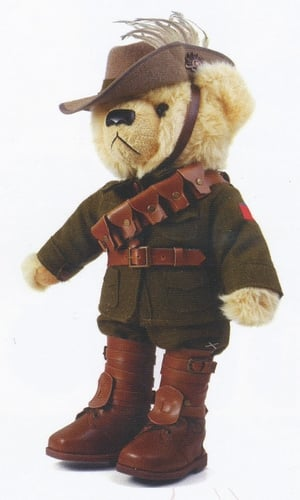 Teddy Bear - Trooper Jones Light Horse Bear
