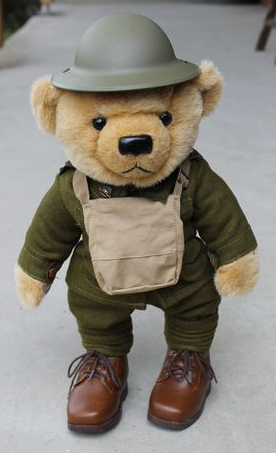 Teddy Bear - Western Front Albert Murray