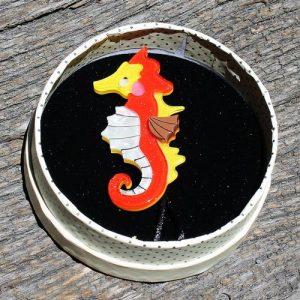 Erstwilder Brooch – The Ocean Trotter (Seahorse)