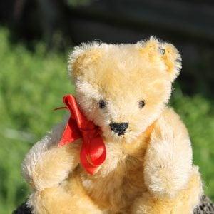 Steiff Original Teddy - blonde vintage 15cm.