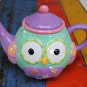 Owl - Colourful Owl Teapot