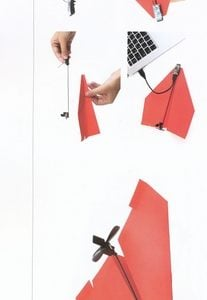 PowerUp - 3.0 Paper Plane fly with your mobile phone