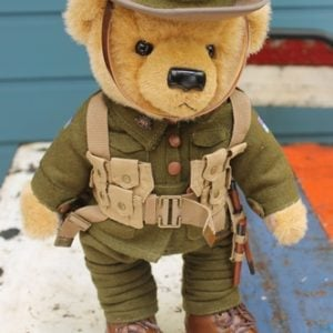 Teddy Bear - Private Ernest Harvey