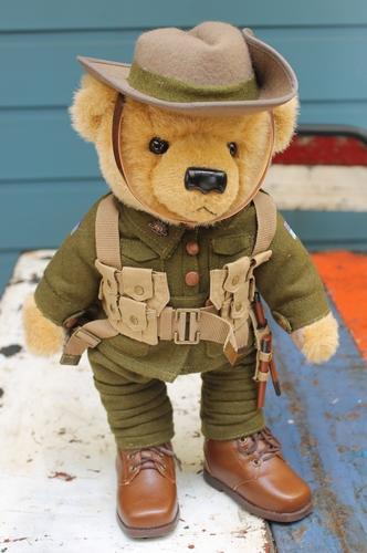 Teddy Bear - Private Ernest Harvey