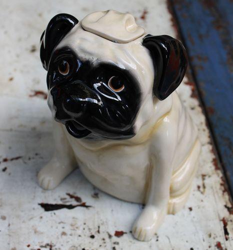 Pug Dog Teapot