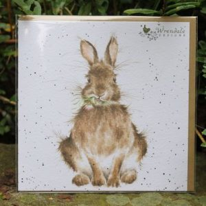 Daisy Rabbit – Greeting Card