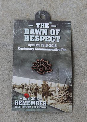 Lapel Pin – Dawn of Respect Rising Sun