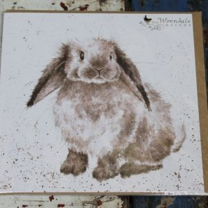 Rosie Rabbit – Greeting Card