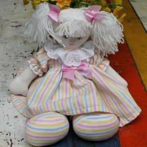 Cloth Rag Doll - Sally Ann