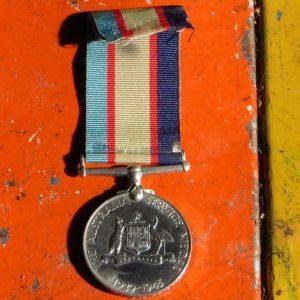 Australian Service Medal – WWII
