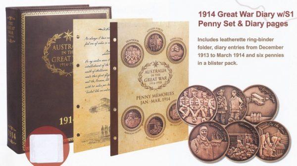 Penny Set One - Jan-Mar 1914