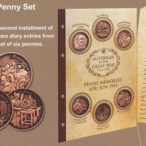 Penny Set Two – April-July 1914