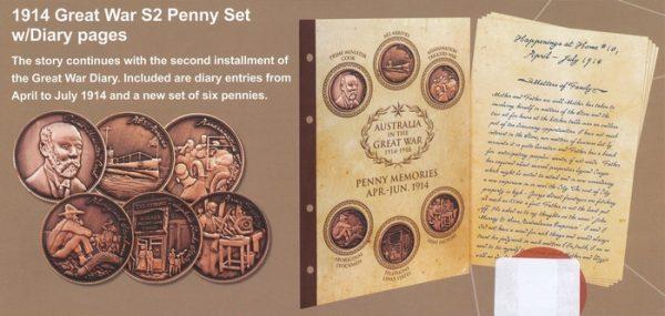 Penny Set Two - April-July 1914