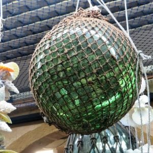 Fishing Float – 12 inch deep green brown net