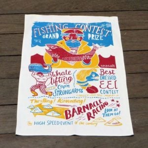 Teatowel – Fishing Contest