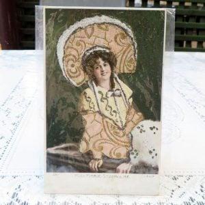 Postcard – Miss Marie Studholme
