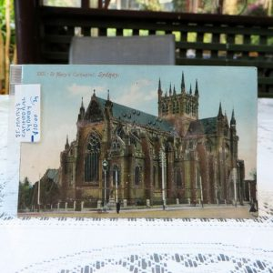 Postcard – St Mary's Cathedral, Sydney