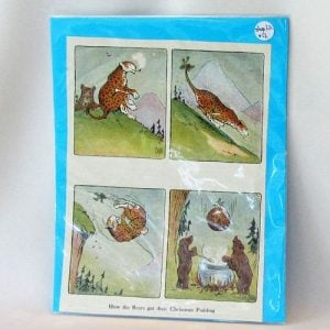 Book Plate – How the Bears got their Christmas Pudding