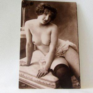 Postcard - Topless Beauty