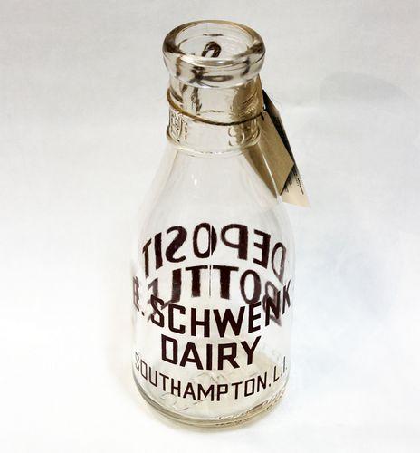 Milk Bottle - Schwenk Dairy