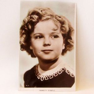 Postcard – Shirley Temple