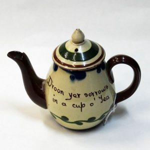 Torquay Ware Teapot - One Cup