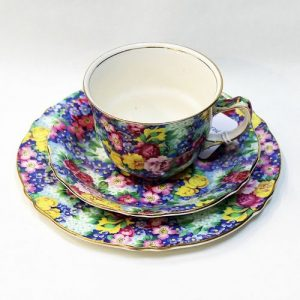 Royal Winton Cup, Saucer, Plate Trio