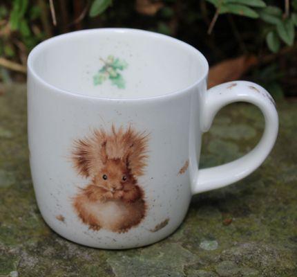 Treetops Squirrel Mug