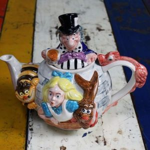 Alice in Wonderland Teapottery Teapot