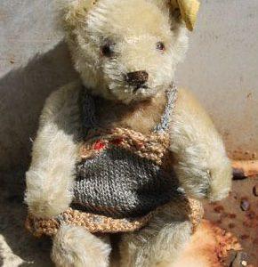 Steiff Original Teddy – Caramel 15cm Vintage